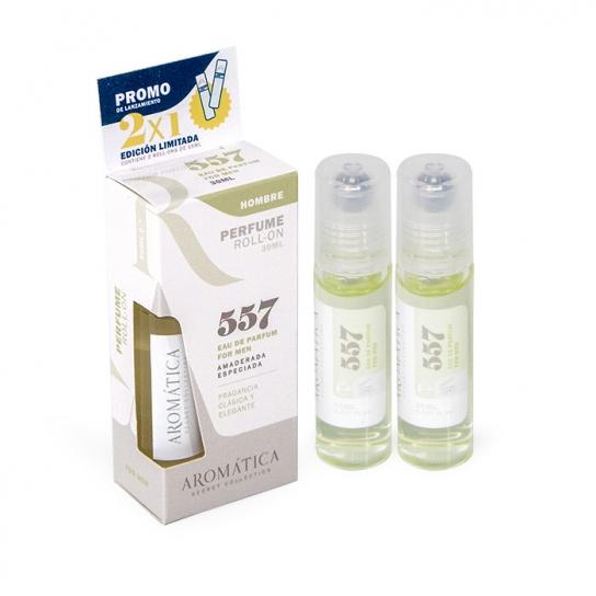 Perfume Roll-On 557 (Amaderada especiada)