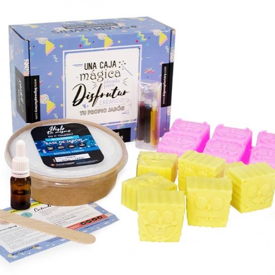 Kit para hacer jabones de bob esponja