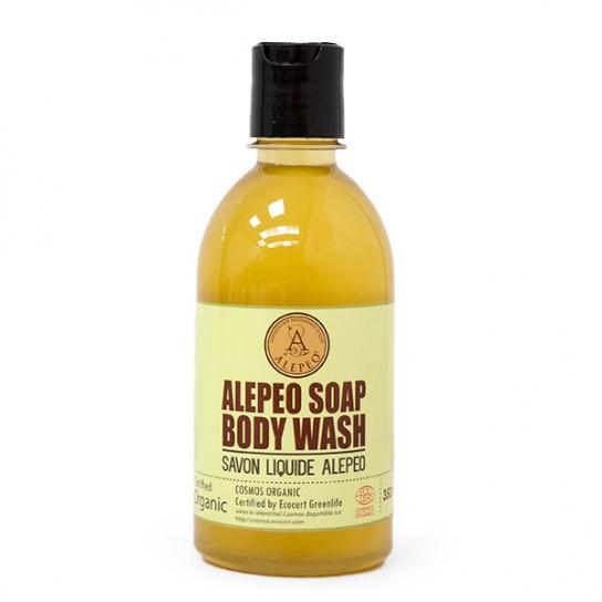 Jabón líquido Natural de Alepo certificado EcoCert