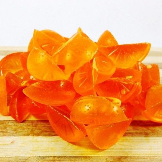 Mini Jabones Gajos Naranja