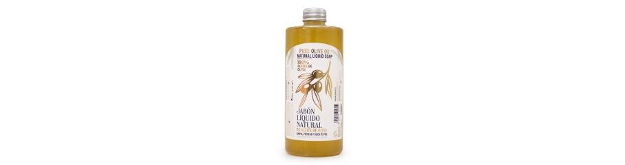 Jabón liquido natural de aceite de oliva