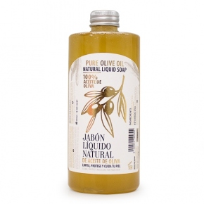 Jabón liquido natural