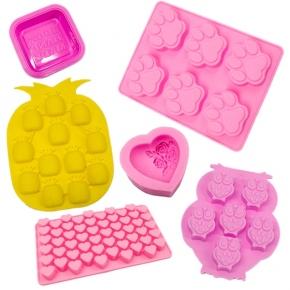 Moldes de silicona para hacer jabón
