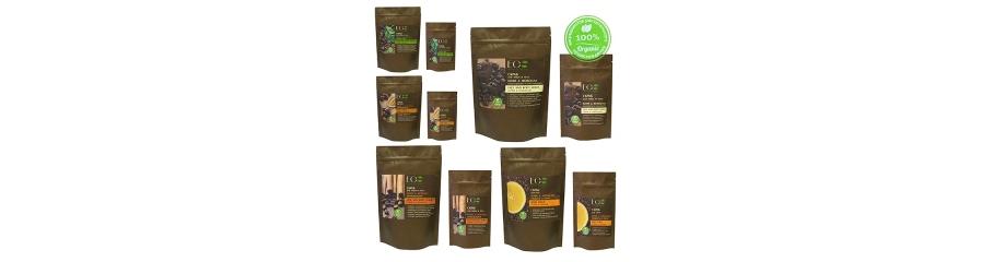 Exfoliantes naturales de café Detox