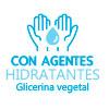 Gel hidroalcohólico con agentes hidratantes