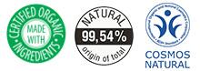 Mascarilla de pelo natural certificada